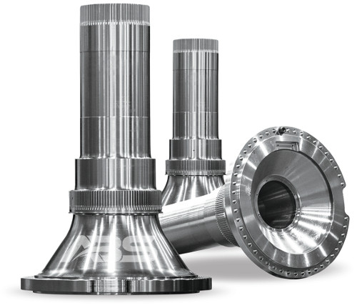 Mining Truck Spindles by ABS Inc.